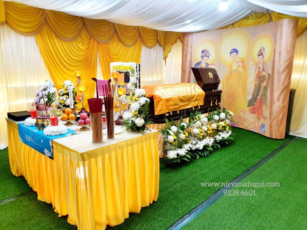 富贵山庄 佛教葬礼
