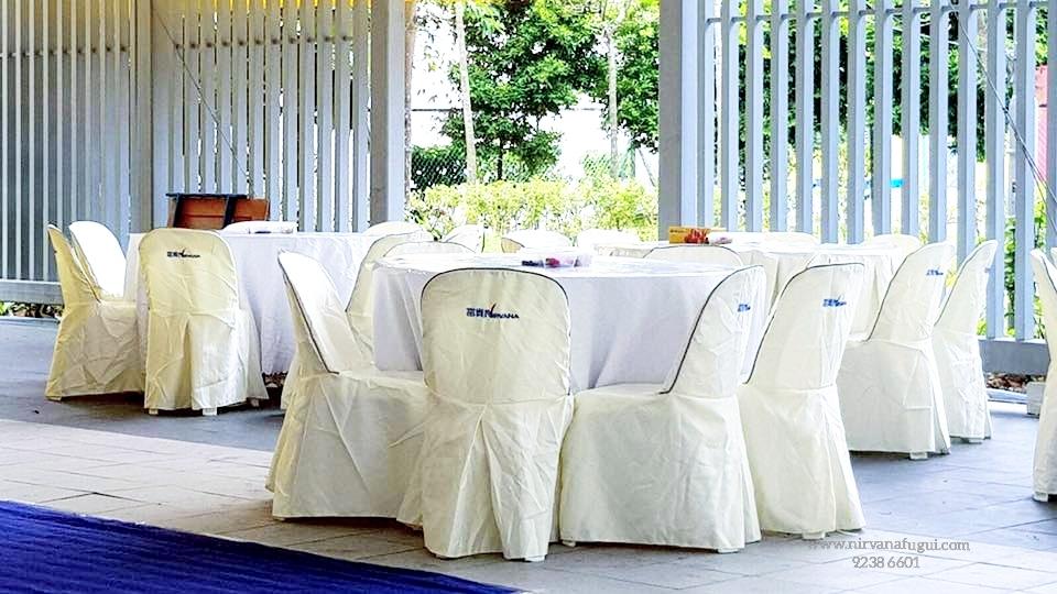 Christian Funeral Service Setup