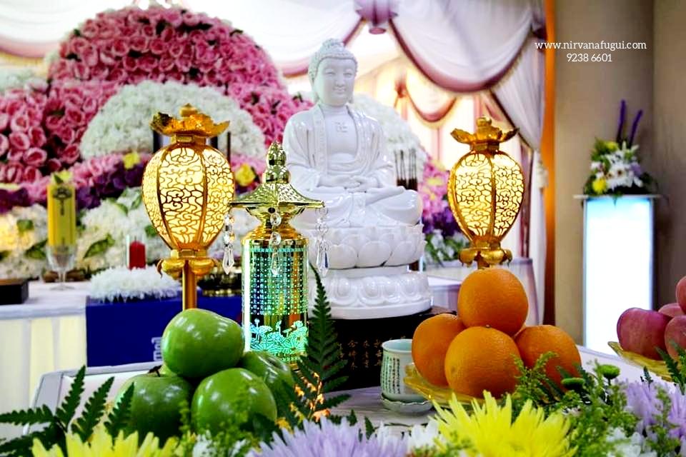 Nirvana Memorial Garden Buddhist Funeral Service Package